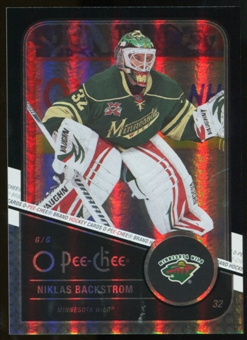 2011/12 Upper Deck O-Pee-Chee Black Rainbow #311 Niklas Backstrom /100
