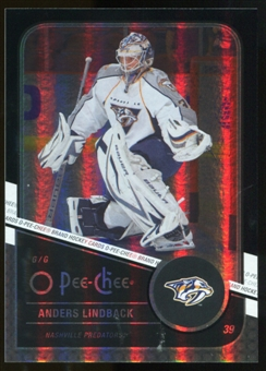 2011/12 Upper Deck O-Pee-Chee Black Rainbow #316 Anders Lindback /100