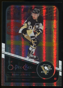 2011/12 Upper Deck O-Pee-Chee Black Rainbow #448 Mark Letestu /100