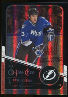 2011/12 Upper Deck O-Pee-Chee Black Rainbow #467 Pavel Kubina /100