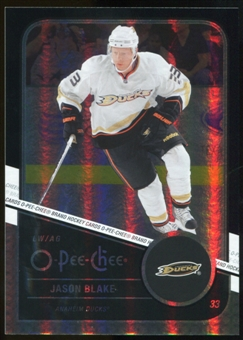 2011/12 Upper Deck O-Pee-Chee Black Rainbow #469 Jason Blake /100