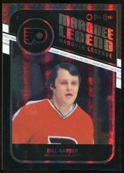 2011/12 Upper Deck O-Pee-Chee Black Rainbow #511 Bill Barber L /100