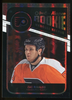 2011/12 Upper Deck O-Pee-Chee Black Rainbow #562 Zac Rinaldo /100