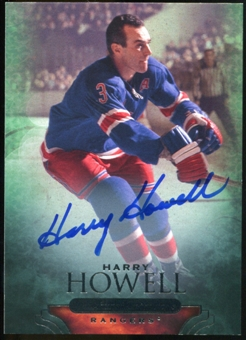 2011/12 Upper Deck Parkhurst Champions Autographs #60 Harry Howell D Autograph