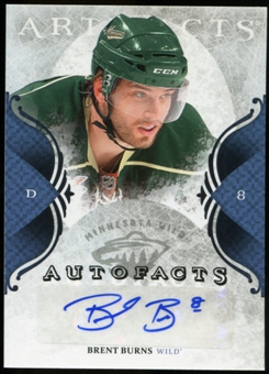 2011/12 Upper Deck Artifacts Autofacts #ABN Brent Burns F Autograph