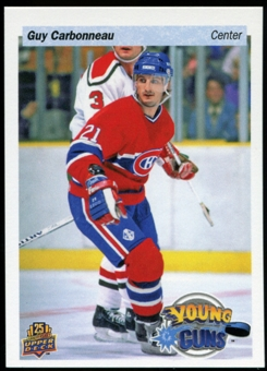 2014/15 Upper Deck 25th Anniversary Retro Young Guns #UD25-GC Guy Carbonneau Toronto Fall Expo