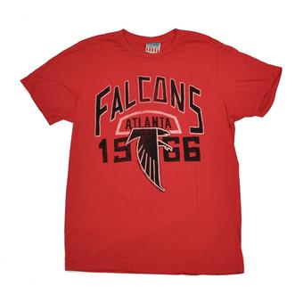 Atlanta Falcons Junk Food Red Kick Off Tee Shirt (Adult S)