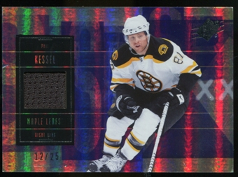 2009/10 Upper Deck SPx Spectrum #2 Phil Kessel Jersey /25