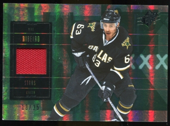 2009/10 Upper Deck SPx Spectrum #28 Mike Ribeiro Jersey /25