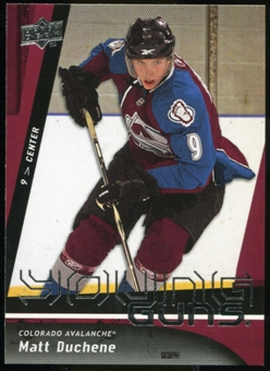 2009/10 Upper Deck #203 Matt Duchene YG RC