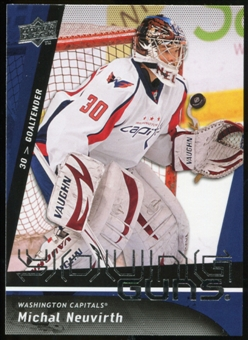 2009/10 Upper Deck #235 Michal Neuvirth YG RC