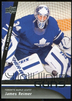 2009/10 Upper Deck #493 James Reimer YG RC