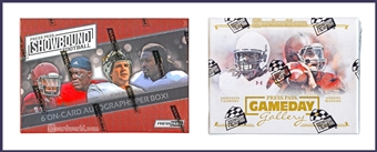 COMBO DEAL - 2014 Press Pass Football Hobby Boxes (Showbound, Gameday Gallery)