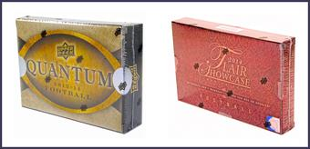 COMBO DEAL - 2014 Upper Deck Football Hobby Boxes (2014 Quantum, 2014 Flair Showcase)