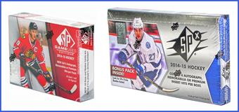 COMBO DEAL - 2014/15 Upper Deck Hockey Hobby Boxes (SP Game Used, SPx)