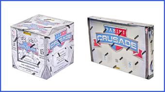 COMBO DEAL - Panini Crusade Basketball Hobby Boxes (2013/14, 2012/13)