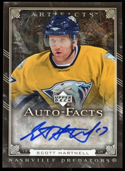 2006/07 Upper Deck Artifacts Autofacts #AFSH Scott Hartnell Autograph