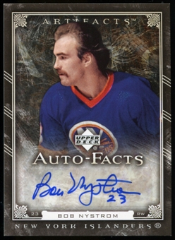 2006/07 Upper Deck Artifacts Autofacts #AFBN Bob Nystrom Autograph