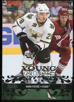 2008/09 Upper Deck #210 Mark Fistric YG RC