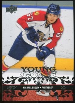 2008/09 Upper Deck #217 Michael Frolik YG RC