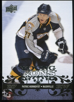 2008/09 Upper Deck #227 Patric Hornqvist YG RC