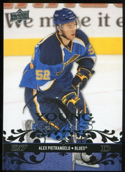 2008/09 Upper Deck #241 Alex Pietrangelo YG RC