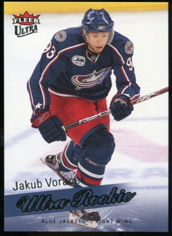 2008/09 Upper Deck Fleer Ultra #253 Jakub Voracek RC