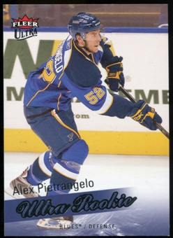 2008/09 Upper Deck Fleer Ultra #257 Alex Pietrangelo RC