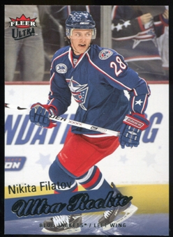 2008/09 Upper Deck Fleer Ultra #263 Nikita Filatov RC