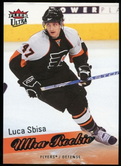 2008/09 Upper Deck Fleer Ultra #267 Luca Sbisa RC