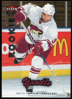 2006/07 Upper Deck Fleer Ultra #238 Keith Yandle RC