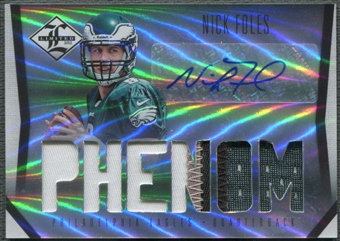 2012 Limited #218 Nick Foles Rookie Patch Auto #178/299