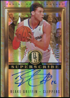 2011/12 Panini Gold Standard Superscribe Autographs #32 Blake Griffin 43/49