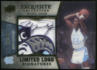 2012/13 Upper Deck Exquisite Collection Limited Logos #MI1 Michael Jordan 1/10