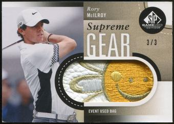2014 Upper Deck SP Game Used Supreme Gear Bags #SGBRO Rory McIlroy 3/3