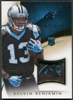 2014 Immaculate Collection #7 Kelvin Benjamin Rookie Gloves Team Logo #4/7