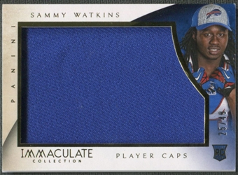 2014 Immaculate Collection #2 Sammy Watkins Rookie Player Caps #25/49