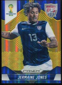 2014 Panini Prizm World Cup Prizms Gold #67 Jermaine Jones 7/10