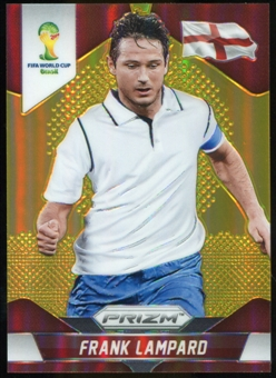 2014 Panini Prizm World Cup Prizms Gold #136 Frank Lampard 5/10