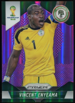 2014 Panini Prizm World Cup Prizms Purple #150 Vincent Enyeama /99