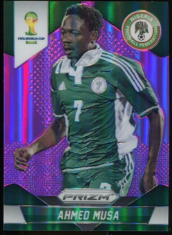 2014 Panini Prizm World Cup Prizms Purple #154 Ahmed Musa /99
