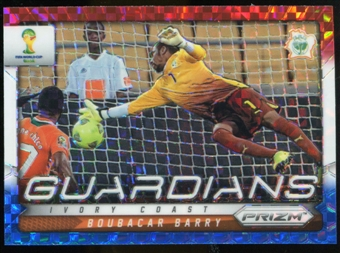 2014 Panini Prizm World Cup Guardians Prizms Red White and Blue #9 Boubacar Barry
