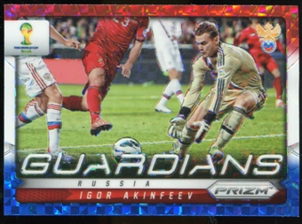 2014 Panini Prizm World Cup Guardians Prizms Red White and Blue #20 Igor Akinfeev