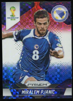2014 Panini Prizm World Cup Prizms Red White and Blue #25 Miralem Pjanic
