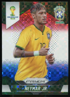 2014 Panini Prizm World Cup Prizms Red White and Blue #112 Neymar