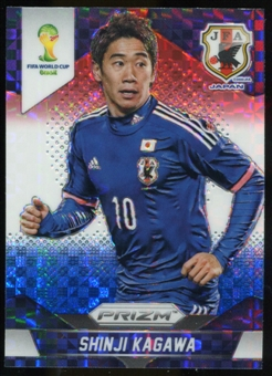 2014 Panini Prizm World Cup Prizms Red White and Blue #200 Shinji Kagawa