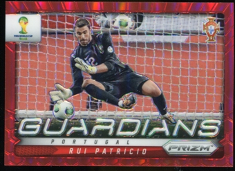 2014 Panini Prizm World Cup Guardians Prizms Red #19 Rui Patricio /149