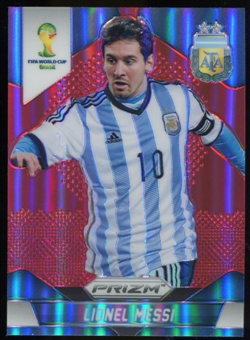 2014 Panini Prizm World Cup Prizms Red #12 Lionel Messi /149
