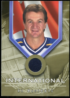 2001/02 BAP Signature Series International Medals Jersey #IG3 Al MacInnis
