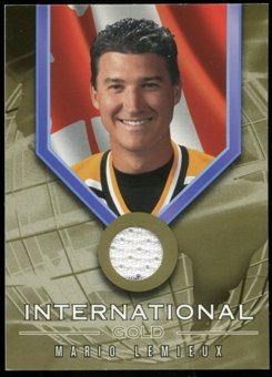 2001/02 BAP Signature Series International Medals Jersey #IG6 Mario Lemieux